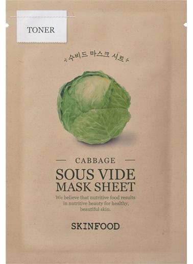Skinfood Cabbage Sous Vide Mask Sheet Renksiz